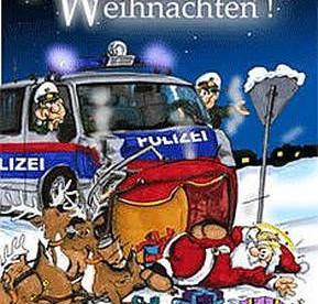 Polizei-Weihnachten