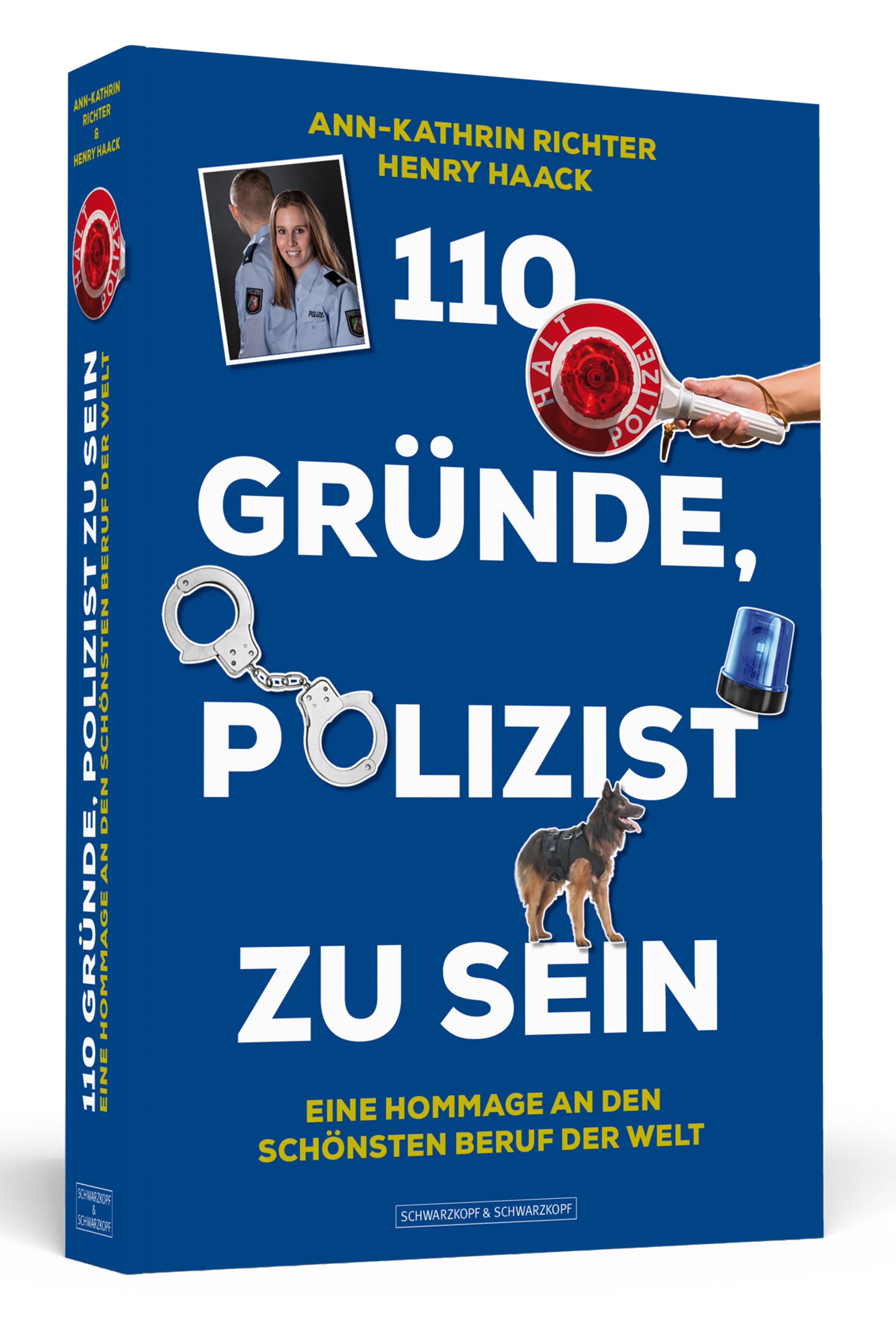 110 GRÜNDE, POLIZIST ZU SEIN - 3D - HiRes